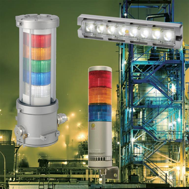 Patlite Signal Light Towers Led Stack Lights Andon Led
