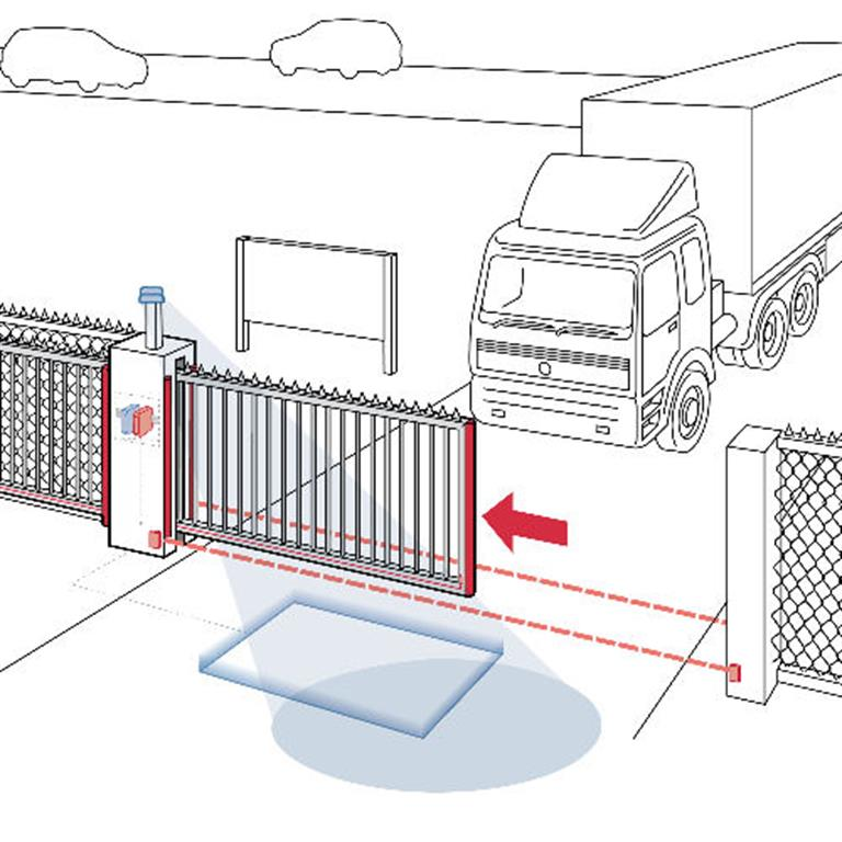 Safety Edges for Automatic Sliding Gates