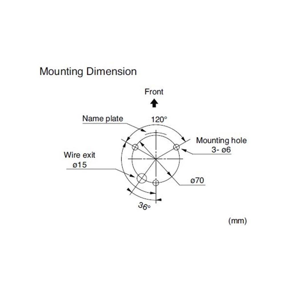 motion 29 lge 100mm led stack light direct mounting patlite lge mounting diagram