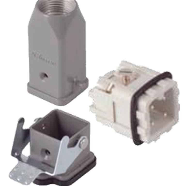 Industrial 3 to 8 Pole Connectors