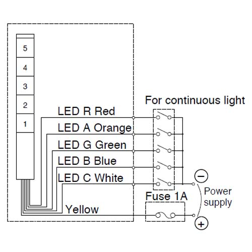 Werma Stack Light Wiring Diagram